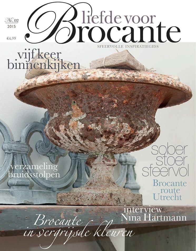 magazin liefde voor brocante 2 2015 flohmarkt shabby. Black Bedroom Furniture Sets. Home Design Ideas